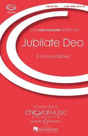Bisbee, W: Jubilate Deo