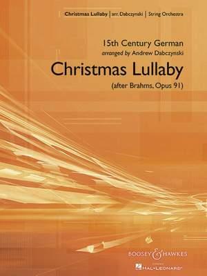 Brahms, J: Christmas Lullaby