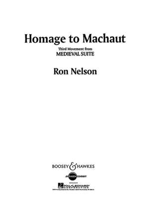 Nelson, R: Medieval Suite