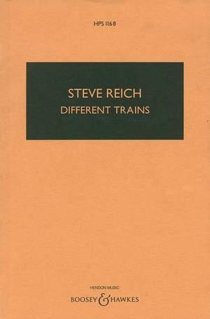 Reich, S: Different Trains