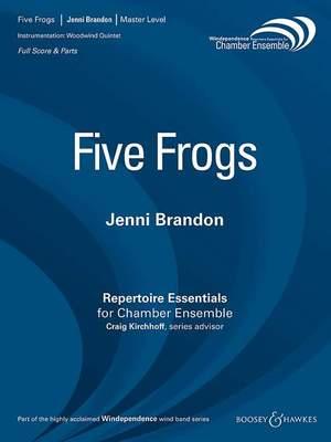 Brandon, J: Five Frogs