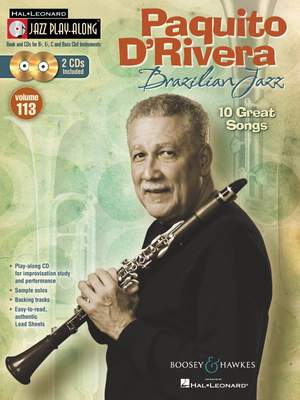 D'Rivera, P: Brazilian Jazz JPA113