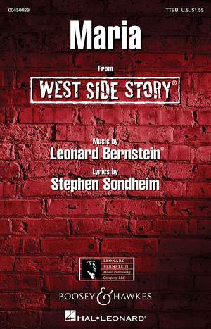 Bernstein, L: Maria (West Side Story)