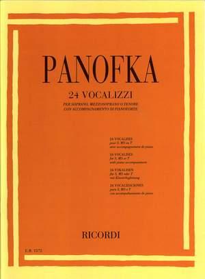 Panofka: Vocalises Op.81 (sop/mezzo/ten)