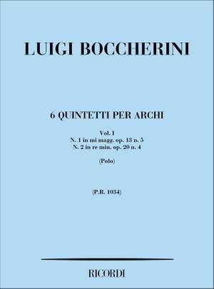 Boccherini: 6 Quintets Vol.1: No.1 & No.2