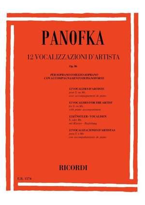 Panofka: Vocalises Op.86 (sop/mezzo)