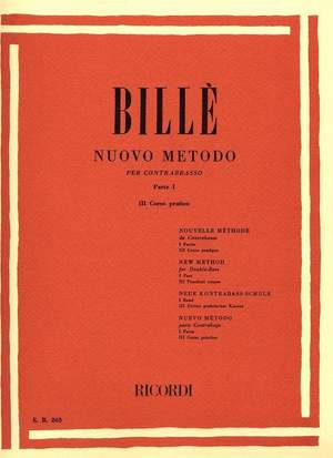 Billé: Nuovo Metodo Vol.3 (Parte 1, No.3)