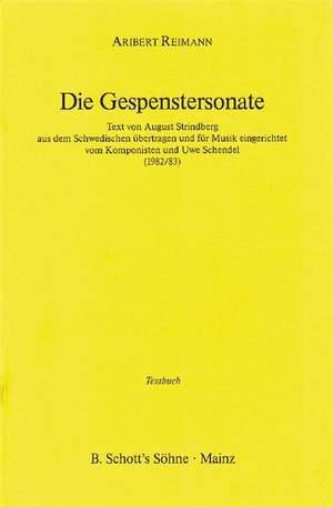 Reimann, A: Die Gespenstersonate