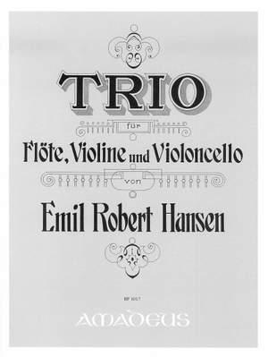 Hansen, E R: Trio D minor