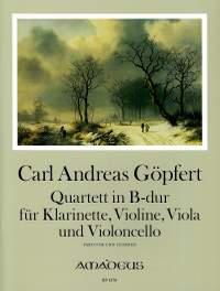 Goepfert, C A: Quartet in Bb major