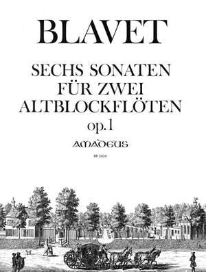Blavet, M: 6 Sonatas Op. 1