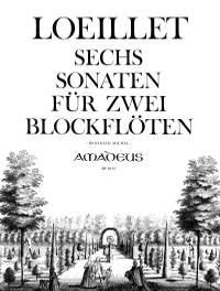 Loeillet de Gant, J B: 6 Sonatas