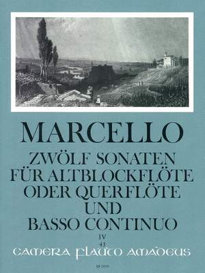 Marcello, B: 12 Sonatas op. 2/4 Volume 4: 10-12