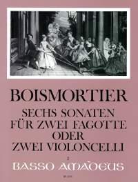 Boismortier, J B d: 6 Sonatas op. 14