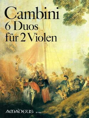 Cambini, G G: 6 Concertants Duos