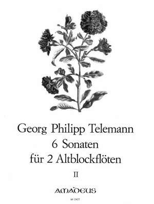 Telemann: 6 Sonatas Vol. 2
