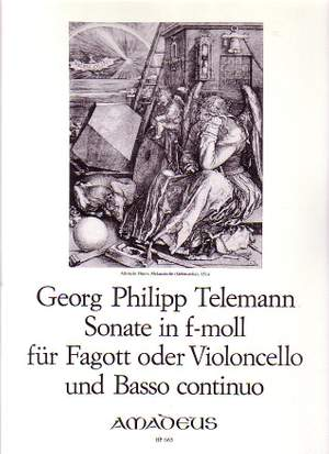 Telemann: Sonata F minor TWV 41:f1