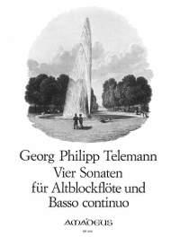 Telemann: 4 Sonatas
