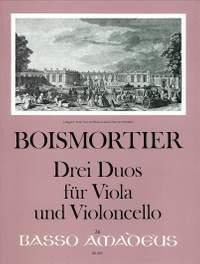 Boismortier, J B d: 3 Sonatas