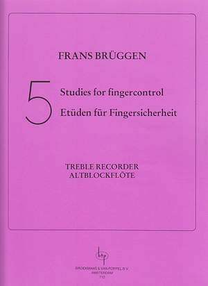 Bruggen: Five Studies For Finger Control