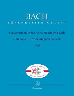 Bach, JS: Anna Magdalena Notebook of 1725 (Urtext)