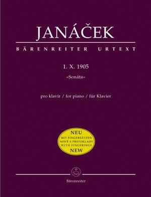 Janacek, L: 1. X. 1905 (Sonata) (Urtext) Product Image