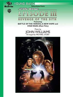 Williams John A New Hope And End Credits From Star Wars Episode Iii Revenge Of The Sith Page 1 Of 1 Presto Sheet Music