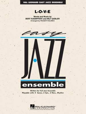 Kaempfert: L-O-V-E (jazz ensemble) Product Image