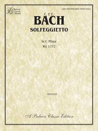 Carl Philipp Emanuel Bach: Solfegietto in C Minor, Wq117/2