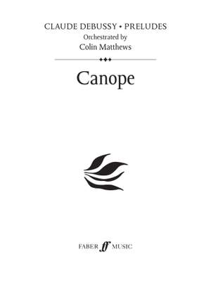 Debussy (orch. Colin Matthews): Canope (Prelude 4)
