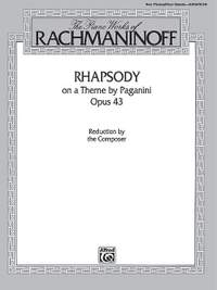 The Piano Works of Rachmaninoff: Rhapsody on a Theme by Paganini, Op. 43