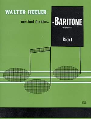 Walter Beeler: Walter Beeler Method for the Baritone (Euphonium) Product Image