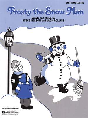 Rollins, J: Frosty the Snow Man (easy piano)