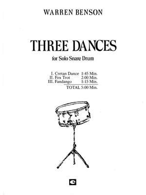 Warren Benson: Three Dances