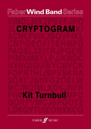 Turnbull, Kit: Cryptogram. Wind band (score and parts)