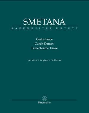 Smetana, B: Czech Dances for Piano (Urtext)