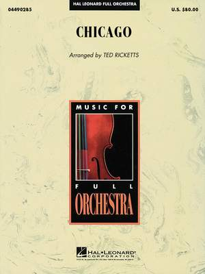 Kander, J: Chicago (orchestra score)