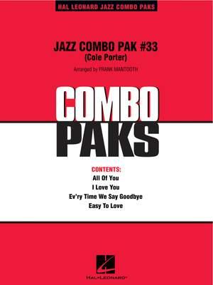 Jazz Combo Pak 33 - Cole Porter