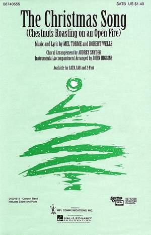 Torme, Mel: Christmas Song, The. SATB accompanied