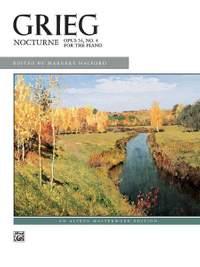 Edvard Grieg: Nocturne, Op. 54, No. 4