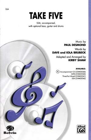 Paul Desmond: Take Five SSA