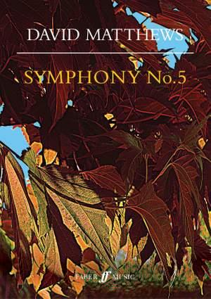 Matthews, David: Symphony No.5 (score)