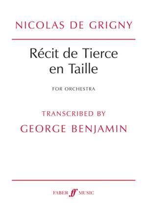 De Grigny, N: Recit de Tierce en Taille (score)