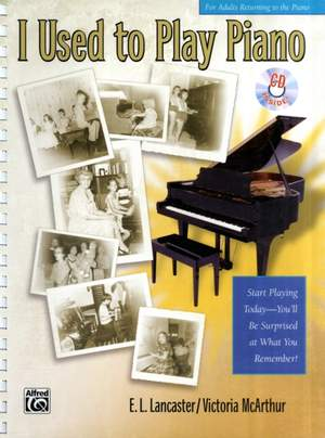 Returning to the Piano A Refresher Book for Adults