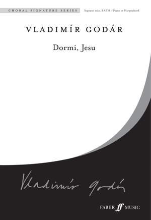 Godar: Dormi, Jesu. SATB accompanied