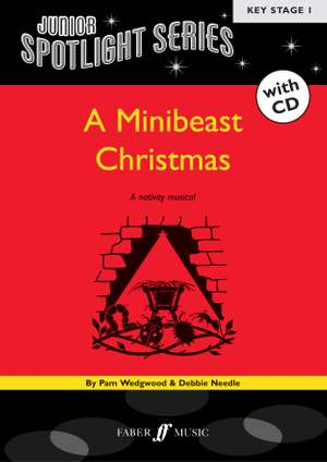Wedgwood, P: Minibeast Christmas (bk/CD) (Spotlight)
