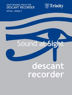 Ball, Christopher: Sound at Sight. Descant Recorder Init-G5