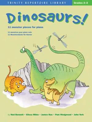 Dinosaurs! Grades 2-3 (piano)