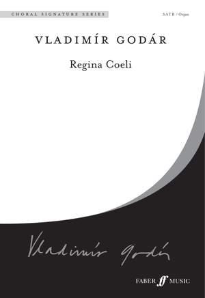 Godar: Regina Coeli. SATB and organ