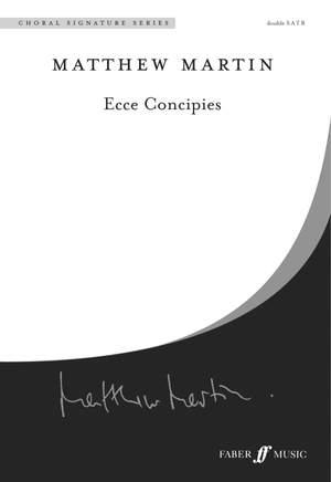 Martin: Ecce Concipies. SATB unaccompanied